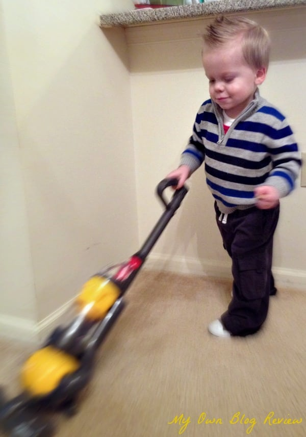 Kids Toy Dyson Vacuum And Toy Swiffer Sweeper Embellishmints