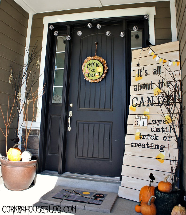 14 Fall And Halloween Porch Decor Ideas