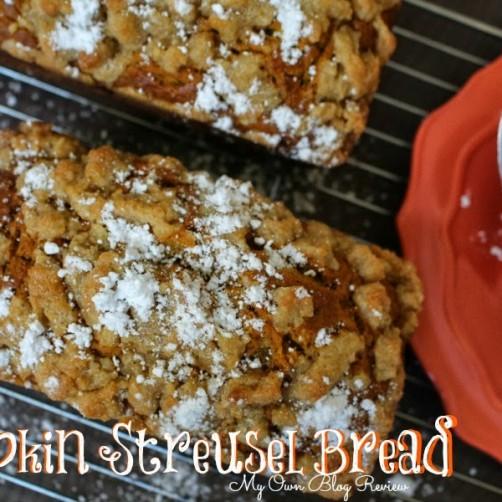 Pumpkin-Streusel-Bread