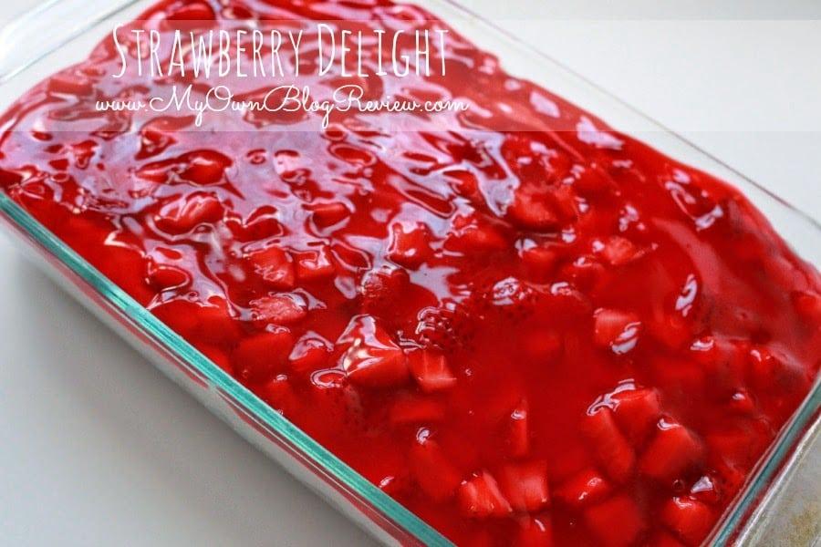 Recipe For Strawberry Delight Cake