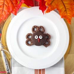 Thanksgiving Oreo Turkey Cookies