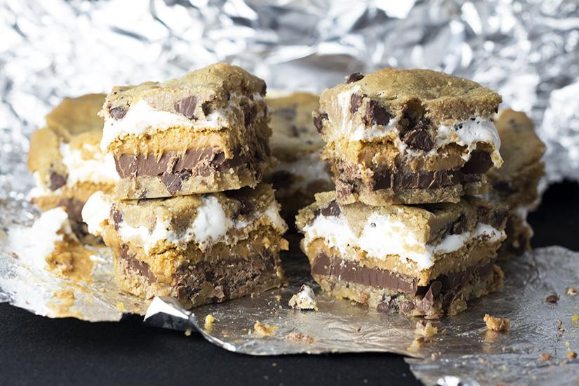 Peanut-Butter-Smores-Bars