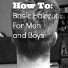 How To Cut Mens Hair // Basic Haircut For Men and Boys