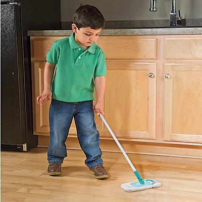 Kids Toy Dyson Vacuum And Toy Swiffer For Kids