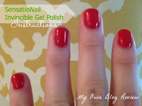 Sensationail Invincible Gel Instructions Embellishmints
