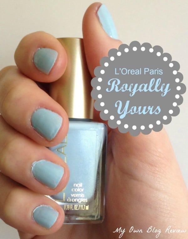 L'Oreal Paris Royally Yours Versailles Romance Collection Nail Polish