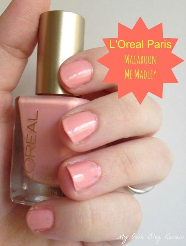 L'Oreal Paris Macaroon Me Madley Versailles Romance Collection