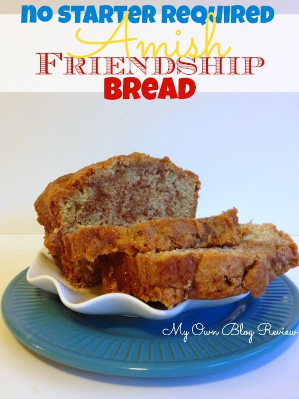 Amish Friendship Bread Without Starter, can't tell you how long I've been looking for this recipe! www.Embellishmints.com