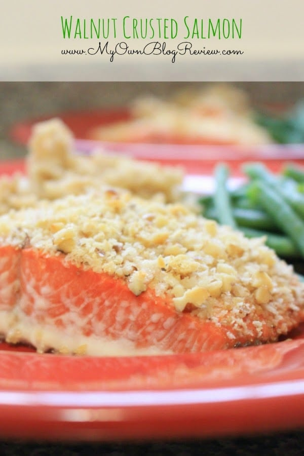Walnut Crusted Salmon. Eating this makes me feel like I'm at a 5-Star restaurant. It is so good! embellishmints.com