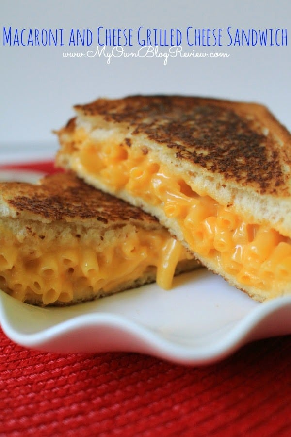 Macaroni and Cheese Grilled Cheese and other budget friendly meals with KRAFT on embellishmints.com #shop