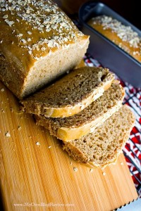 Copycat Cheesecake Factory Bread. This honey wheat bread is so dense and delicious, just like the kind you love from Cheesecake, just without the extra caramel coloring ~ embellishmints.com