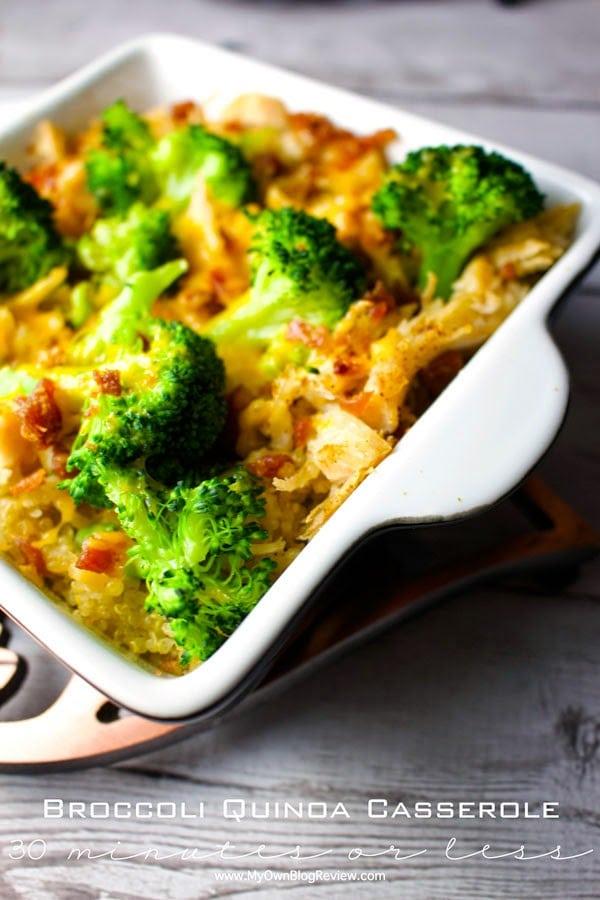 Quinoa-Broccoli-Casserole