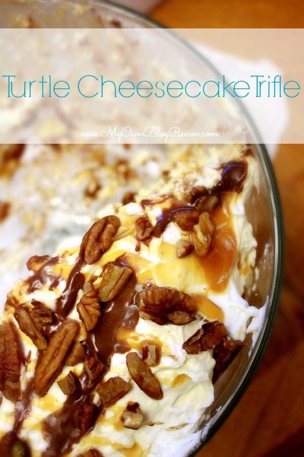 Turtle Cheesecake Trifle - Embellishmints