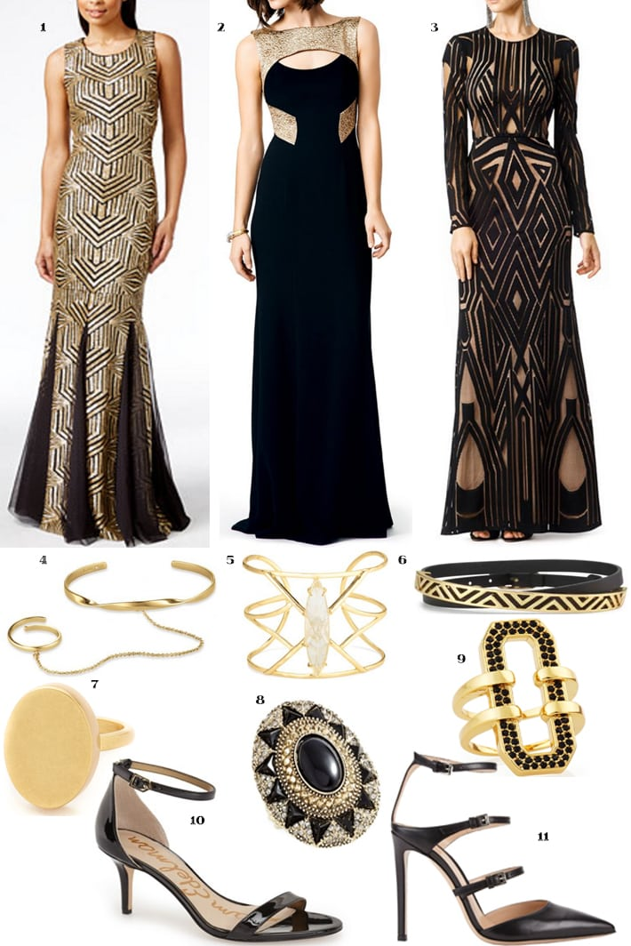 What To Wear To An Art Deco Themed Party. Inspiration to get you ready for your Art Deco Party. www.Embellishmints.com