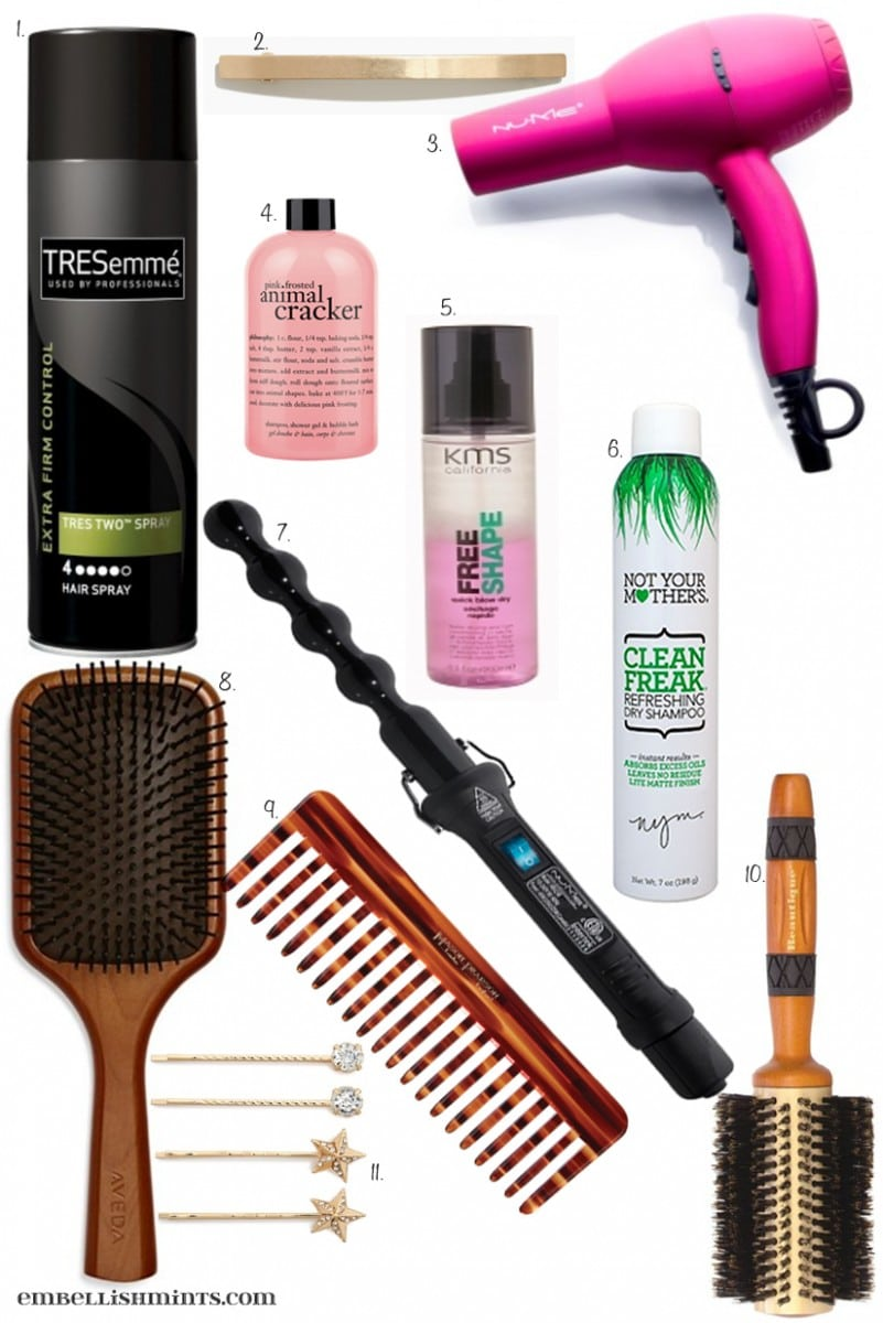 These are my favorite hair products and some that I'm dying to try. Favorite Hair Products. www.Embellishmints.com