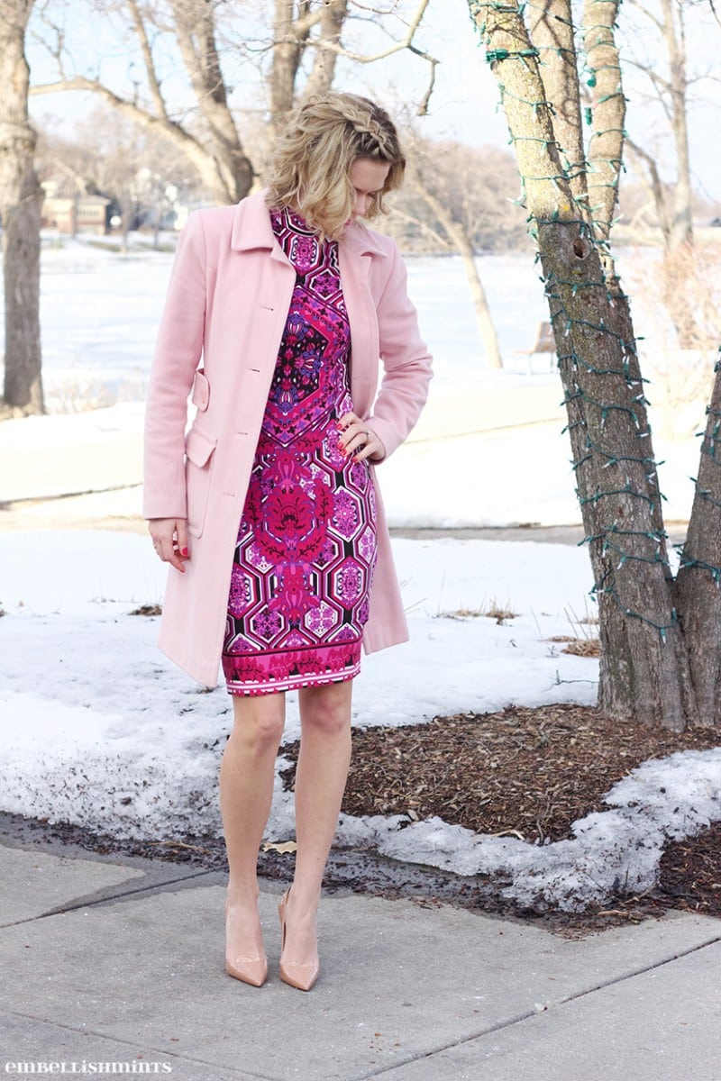 5 ways to wear the Pantone Color of the Year Rose Quarts! www.Embellishmints.com
