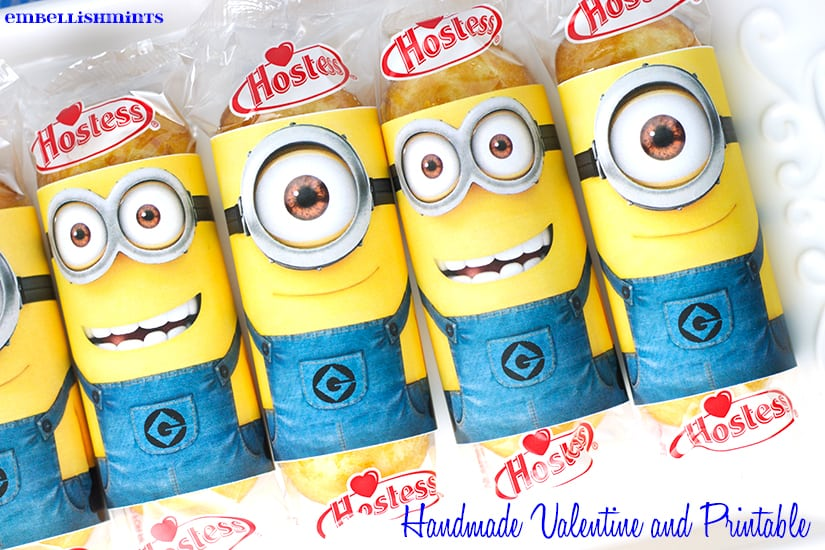 picture relating to You Re One in a Minion Printable identify Youre Just one In just A Minion Printable! Fantastic for Valentins Working day