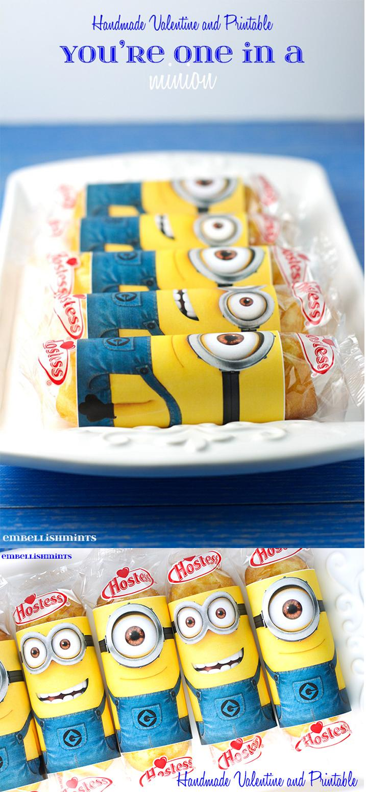 photo relating to You Re One in a Minion Printable called Youre Just one Inside of A Minion Printable! Excellent for Valentins Working day
