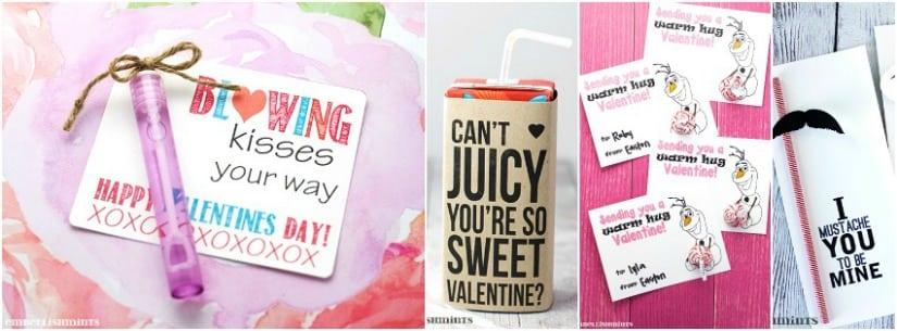 Free Handmade Valentine's Day Printables