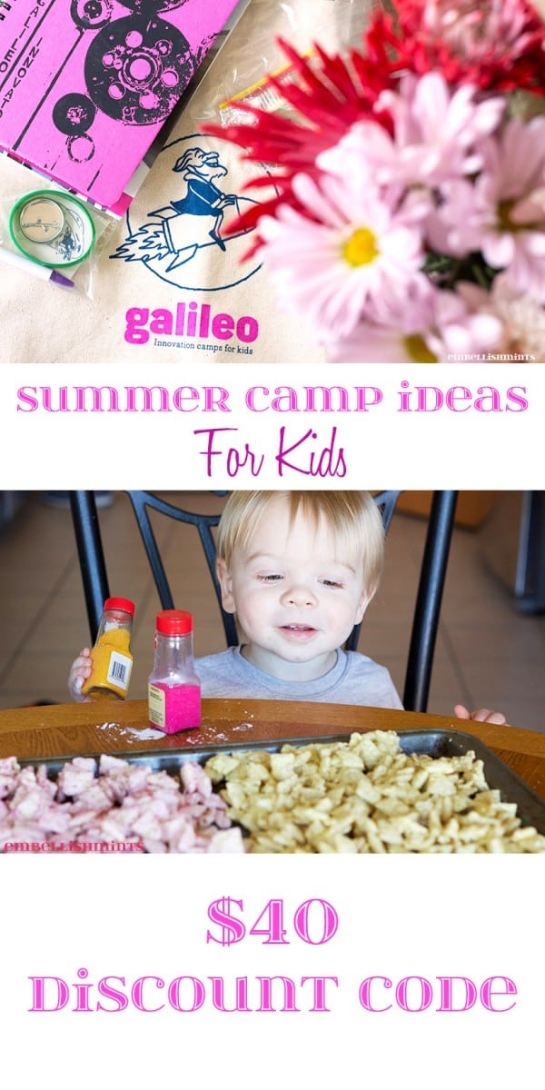 Galileo Summer Camp. Embellishmints.com
