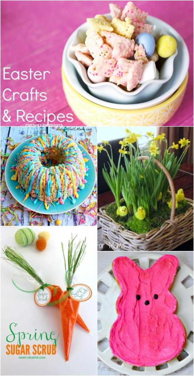 Easter Crafts And Recipes Embellishmints
