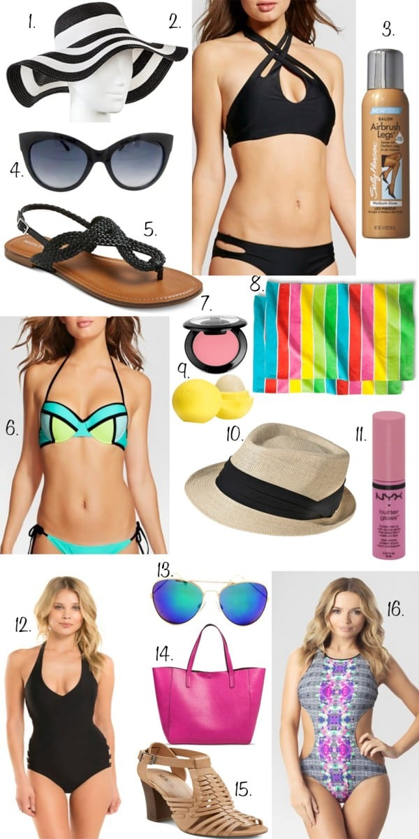 How To Wear A Bikini: Postpartum Belly! My #1 TIP on www.Embellishmints.com