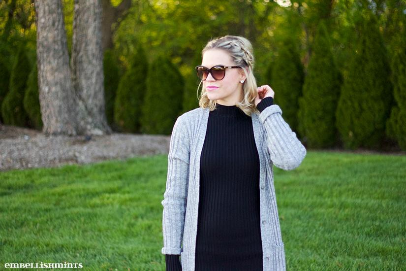 I have been obsessed with the Double Braided Ponytail. A dutch braid look so cute and adds so much character to an otherwise boring outfit or hair day. I have step-by-step instructions for you on www.Embellishmints.com