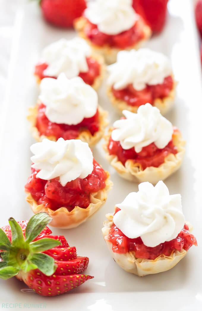 No Bake Strawberry Pie Bites are my favorite from this week's Linky Party! Deliciousness made by Spoonful of Flavor. Get the link to the recipe here.