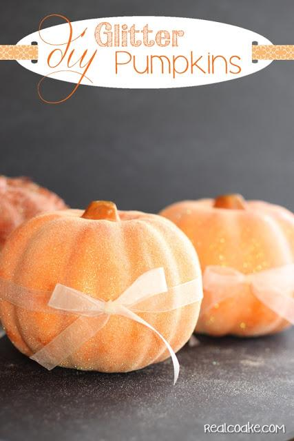 My favorite link from last week's Linky Party are these adorable DIY Glitter Pumpkins for Fall! Learn how to make them here.