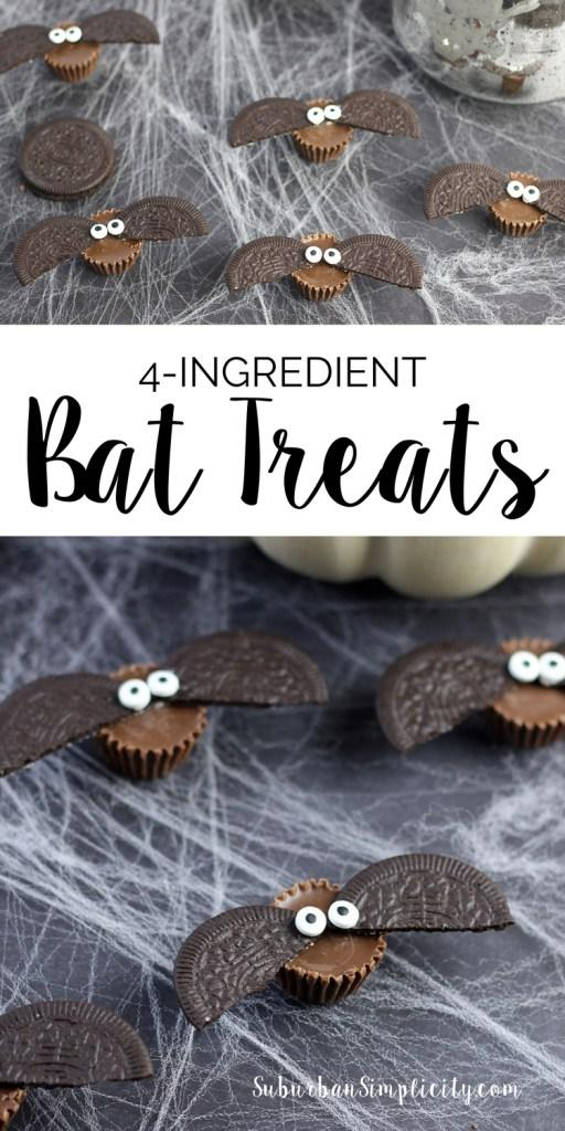 DIY Halloween Bat Treats are my favorite from last week's Linky Party. Suburban Simplicity came up with such a cute idea! Find the link on how to make them here.