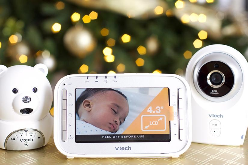 The countdown is officially beginning for my sweet baby boy's due date! Something I wish I had had for my first baby is definitely a baby monitor! This VTech Bear Monitor is amazing. I can monitor all of my kids rooms and the playroom on the same device! Learn more on www.embellishmints.com