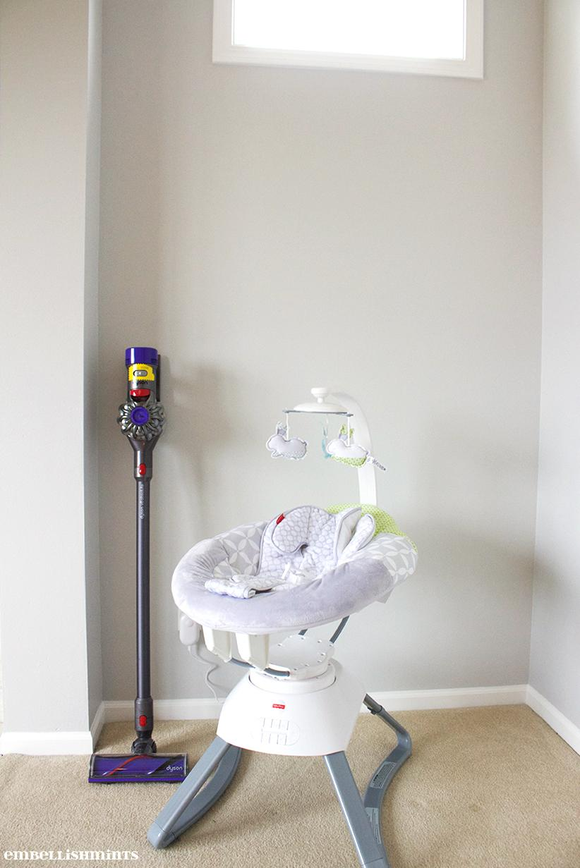 How To Safely Clean Your House During Your C-section Recovery! www.Embellishmints.com