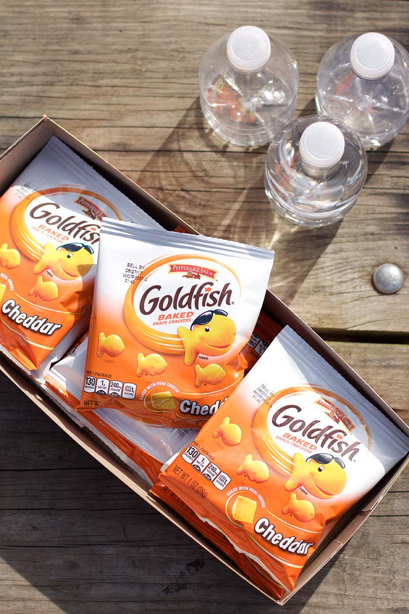 Bringing snacks at the park is a great way to share with new friends. I don't know many moms who would like their child eating a strangers food so I like to take individually packaged Goldfish so we can share with everyone! That way noone feels left out. www.Embellishmints.com