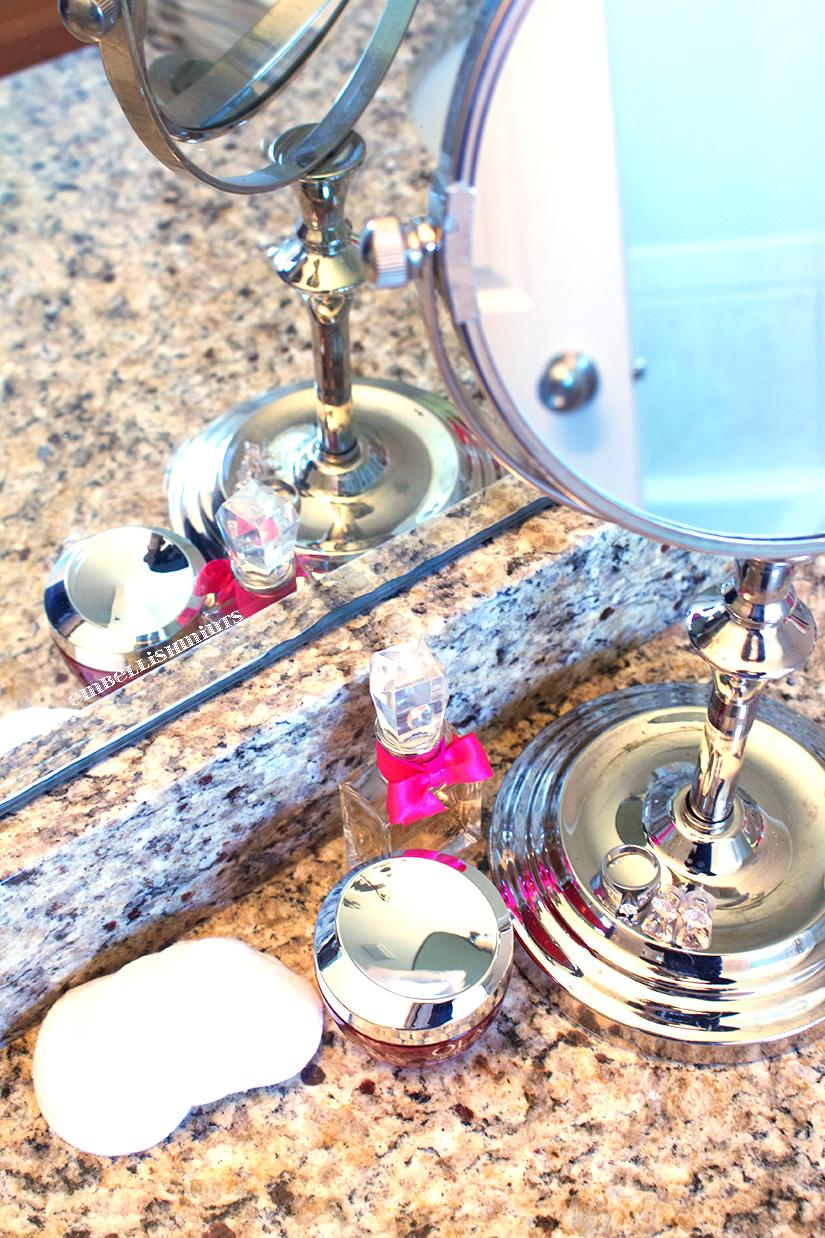 My morning and night time routine includes a hydrating moisturizer. You're never too young to start taking good care of your skin. Especially your face, neck and hands. I love using Olay Regenerist Micro-Sculpting Cream. It works for me throughout every stage of life. I love it. Learn more on Embellishmints.com