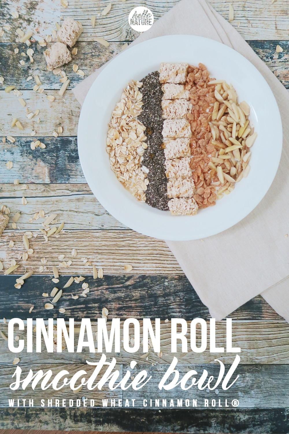 I have been obsessed with oatmeal lately. Oatmeal is so versatile, filling and delicious. I love the idea of this Cinnamon Roll Oatmeal Smoothie Bowl and can't wait to add it to my morning ritual! Find the recipe on this week's linky party...