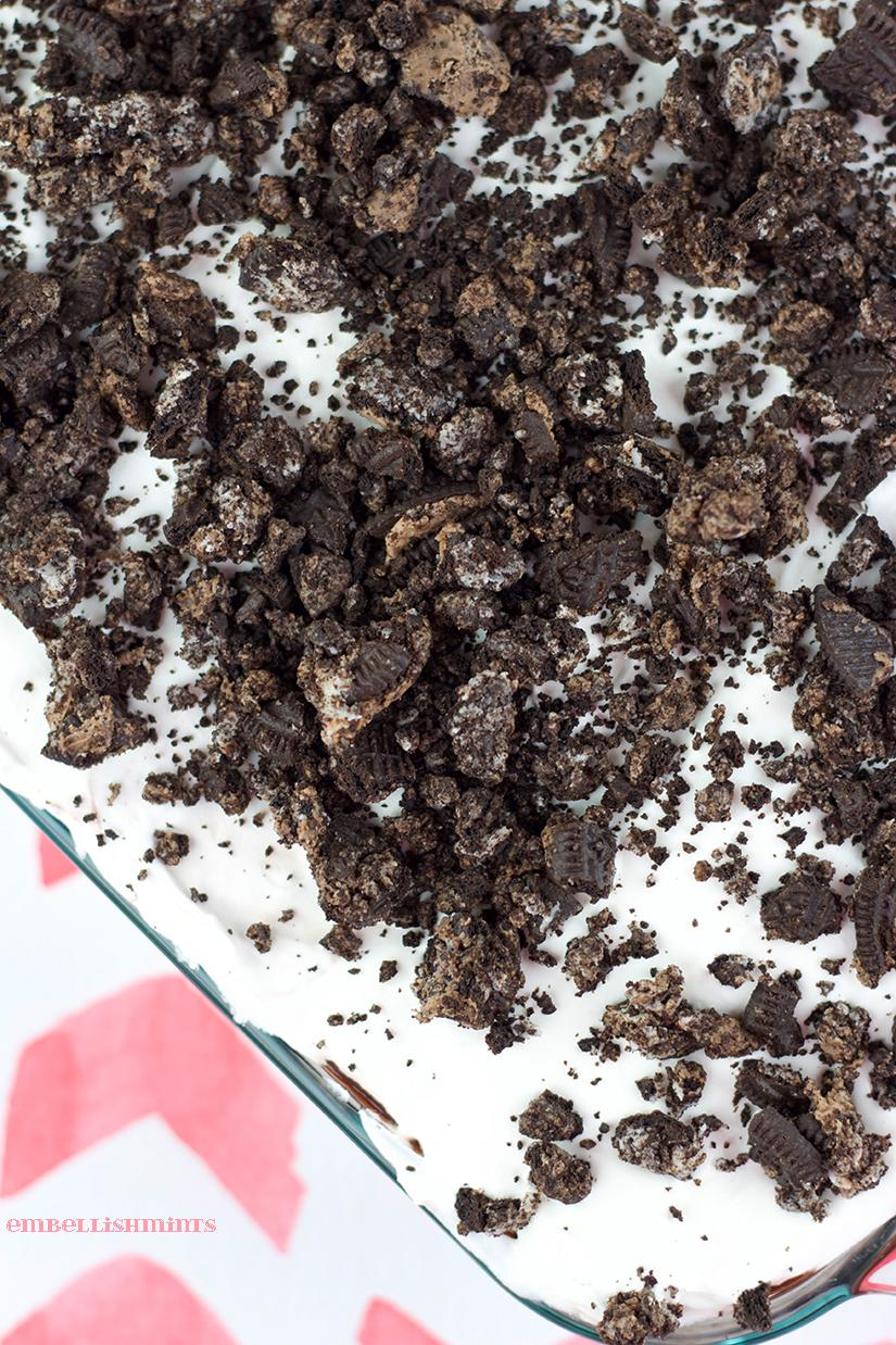 Heavenly Oreo Dessert from Embellishmints for Chocolate Chocolate and More