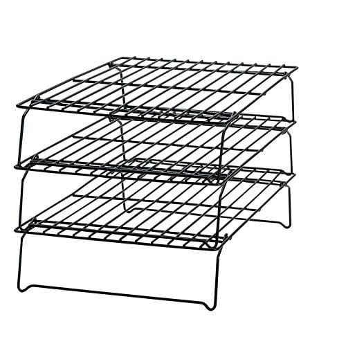 Wilton 3-Tier Cooling Rack is wonderful for baking. It saves so much space on your countertops!