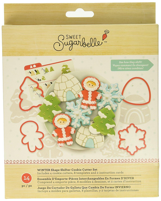 Sweet Sugarbelle Winter Cookie Cutter Set