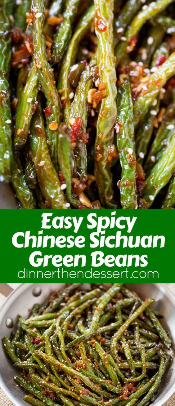 Vegetable Recipes For Kids || Kid Friendly Vegetable Recipes. Spicy Sichuan Green Beans are the perfect easy side dish to your favorite Chinese meal and they're a breeze to make with just a few ingredients.