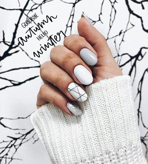 Nail Designs for Spring Winter Summer Fall. Looking for a fresh ideas for winter nail designs? We picked up for you the best photos of the most relevant winter nail art 2018