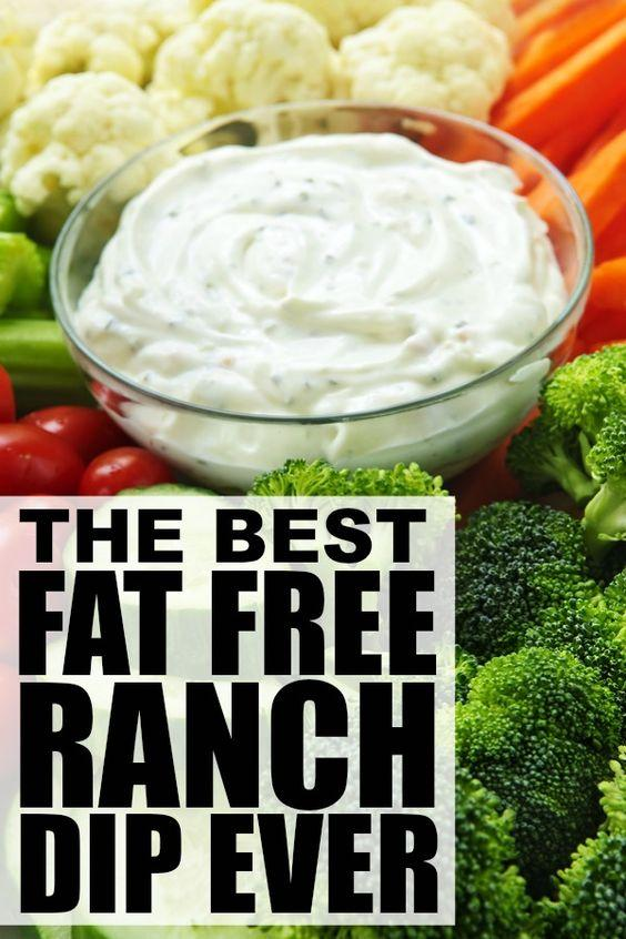 Vegetable Recipes For Kids || Kid Friendly Vegetable Recipes. The Best Fat Free Ranch Dip Recipe Ever. Whether you're throwing a summer BBQ for your entire neighborhood, or just need a creative way to get your kids to eat more vegetables, this DELICIOUS fat free ranch dip recipe will keep everyone coming back for seconds!