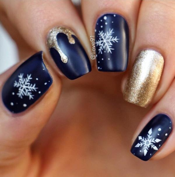 Christmas Nail Art Design Ideas: Nail Designs For Sprint Winter Summer And Fall. Holidays Too