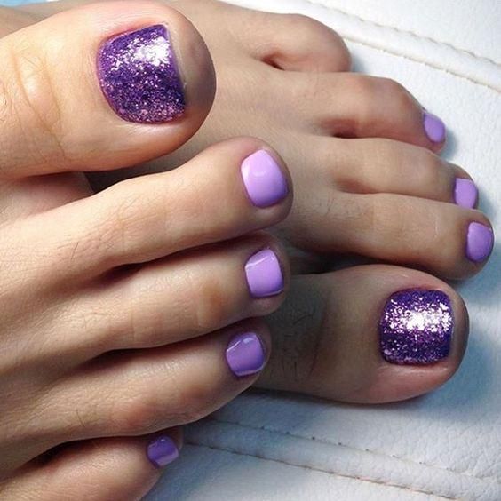 30 Majestic Fall Toe Nail Designs Images For 2019: Nail Designs For Sprint Winter Summer And Fall. Holidays Too