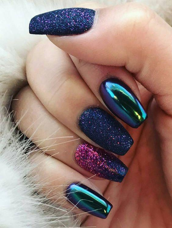 Glitter And Mirror Nail Design 50 Inspiring Fashion Beauty Ideas You Will Fell In Love With