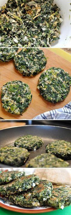 Vegetable Recipes For Kids || Kid Friendly Vegetable Recipes. Spinach Burgers -- These are high in protein, low in carbs and absolutely delicious
