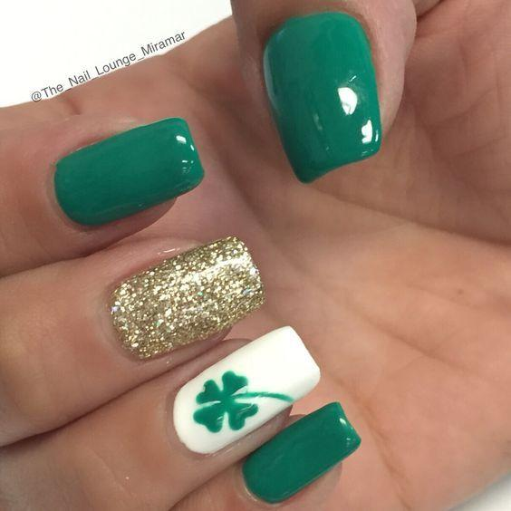 Holiday Nail Designs For Spring Winter Summer Fall St Patricks Day