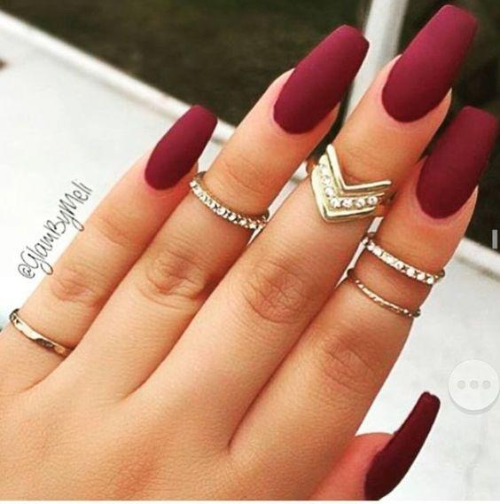 Matte Nail Designs for Sprint Winter Summer Fall. 17 Manicures That Will Have You Mad About Matte