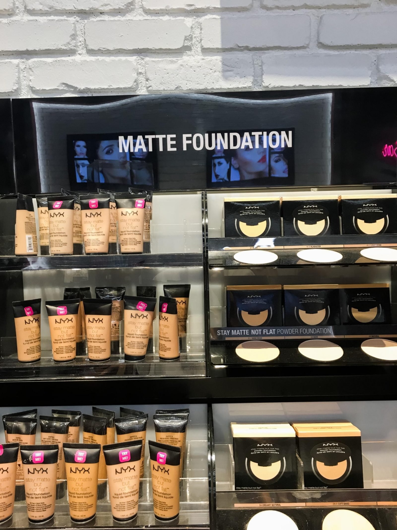 My favorite Matte Foundation at NYX Makeup at Woodfield Mall. The Best Woodfield Mall Stores in Schaumburg Illinois. Woodfield Mall is one of the biggest malls in America, let me help you decide where to stop first!