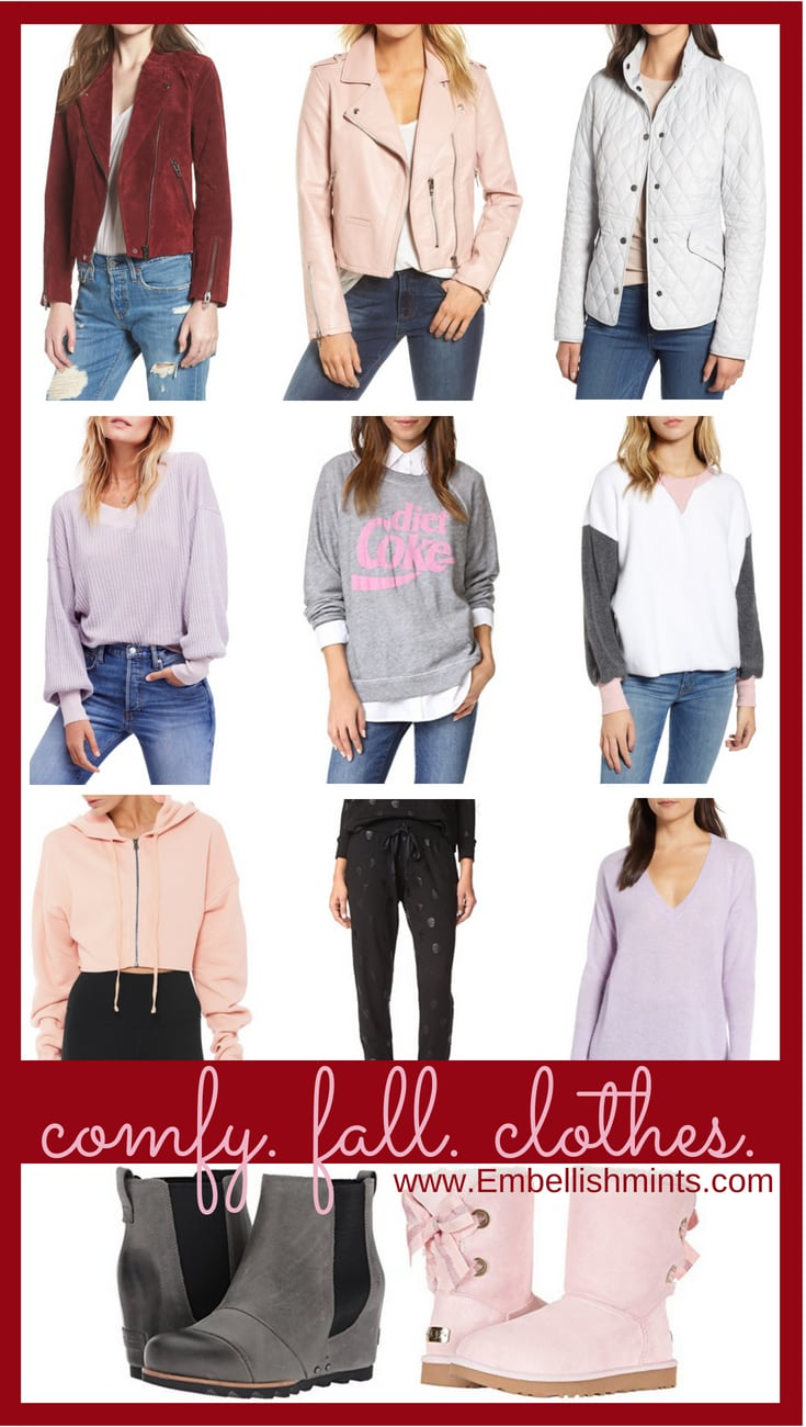 Comfy Fall Clothes || Looks That Are Perfect For Fall. Get all the inspiration you need to make this amazing season comfortable.
