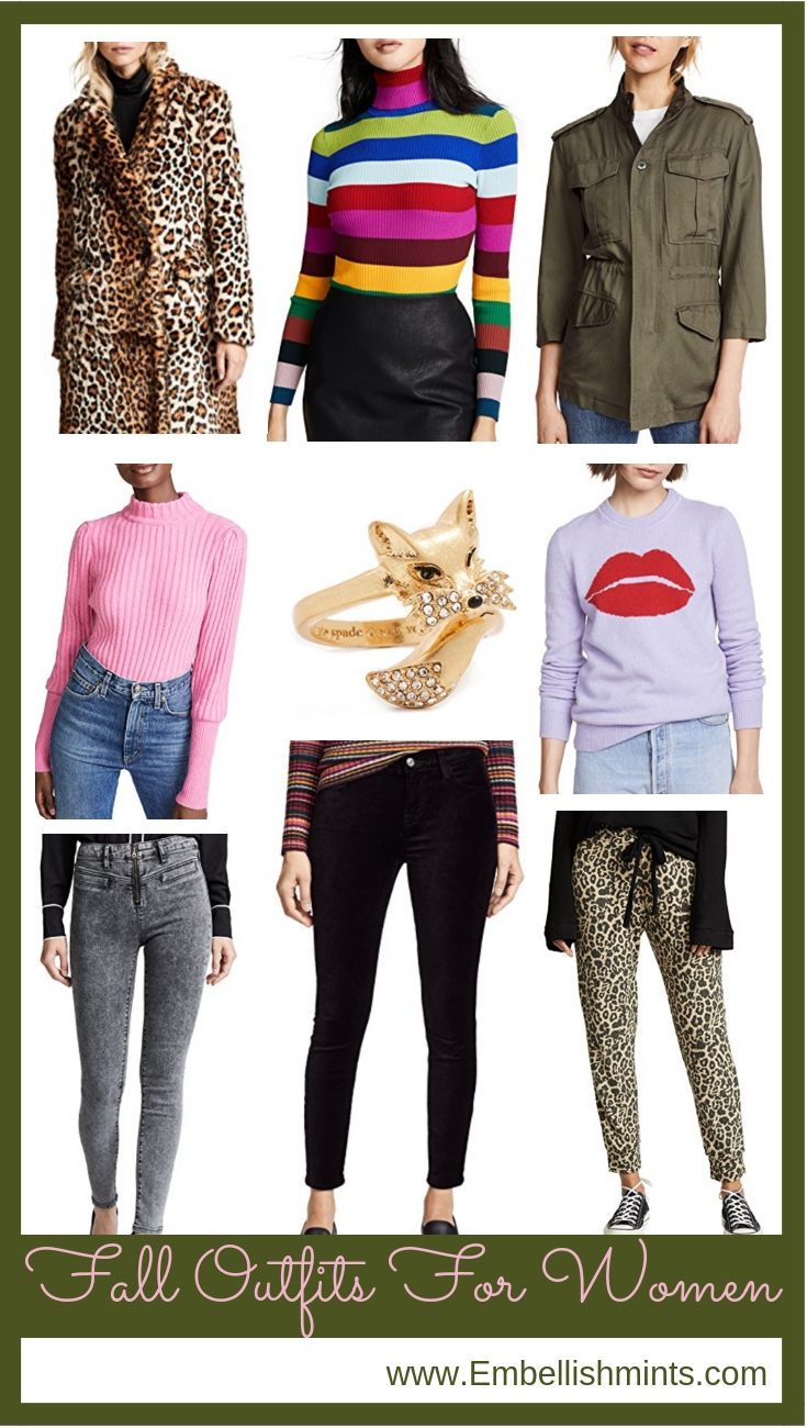 Getting Excited For Fall || Fall Outfits For Women. Get inspired, and check out the best way to get your designer pieces at a fraction of the price! www.Embellishmints.com